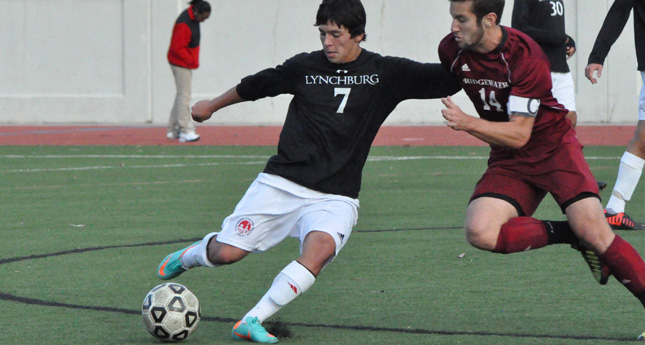 LC Men's Soccer Rolls to 4-0 win over Bridgewater on Homecoming