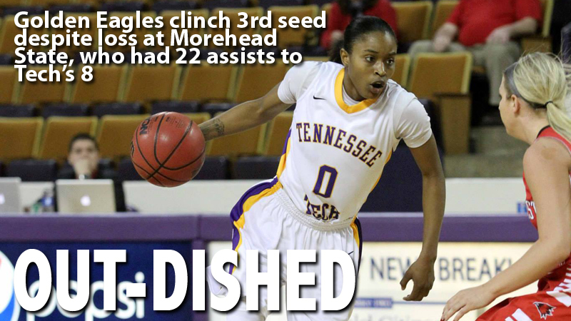 Tech loses to Morehead State, but clinches third seed in OVC tourney