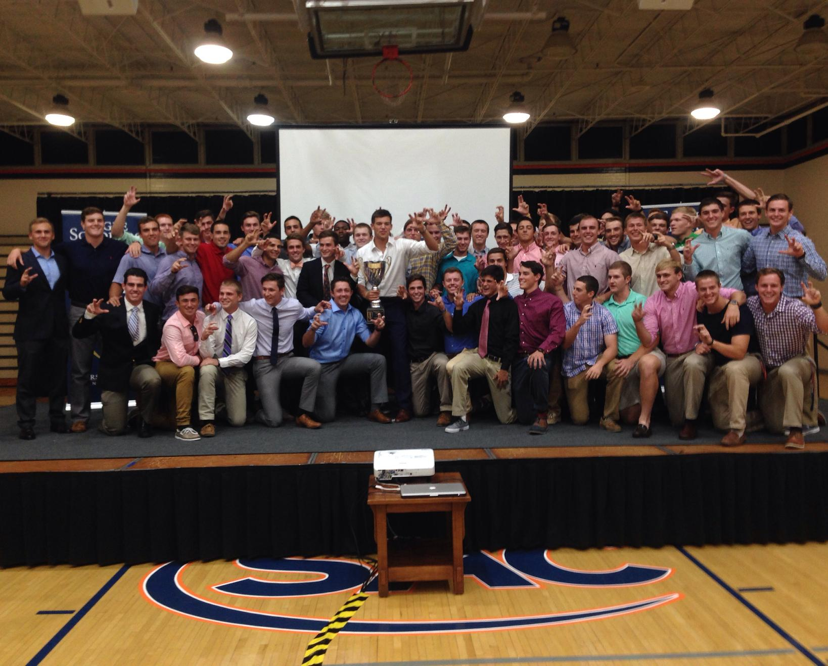 Baseball brings home Director's Cup at Eagle Scholars ceremony
