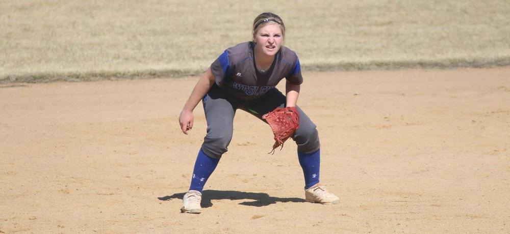 Softball drops pair of games to Midland