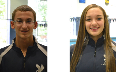 UMW's Eisig, Fago Named CAC Swimmers of the Week