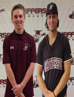 Kernehan and Espino named Jefferson Co-Athletes of the Week