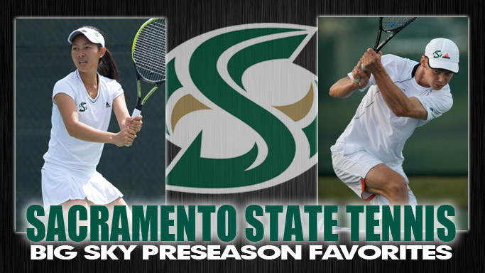MEN'S AND WOMEN'S TENNIS SELECTED FAVORITES IN BIG SKY PRESEASON POLL