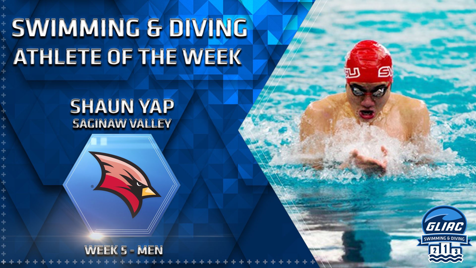 Shaun Yap Named GLIAC Male Athlete of the Week
