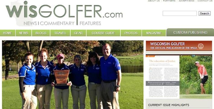 Women's Golf featured on WisGolfer.com