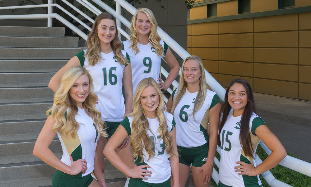 VOLLEYBALL PLAYS FINAL TWO HOME REGULAR SEASON GAMES; SENIOR DAY ON TAP FOR SATURDAY