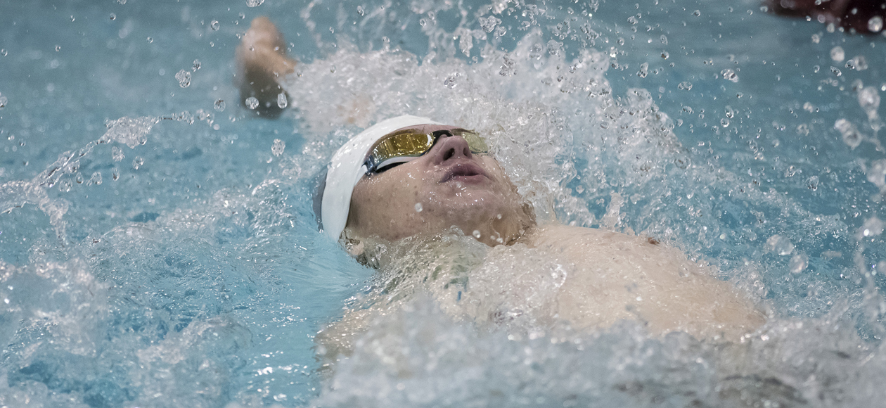 Men's Swimming and Diving Places Seventh at Ithaca Invitational