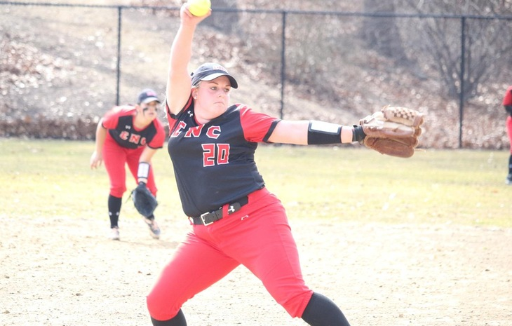 Elisabeth Schaffer Earns Third-Straight NECC Softball Pitcher of the Week Nod