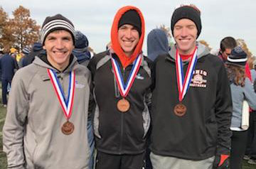 McVey wins NCAA Div. III Great Lakes Regional, leads No. 18 Men's Cross Country to third place finish