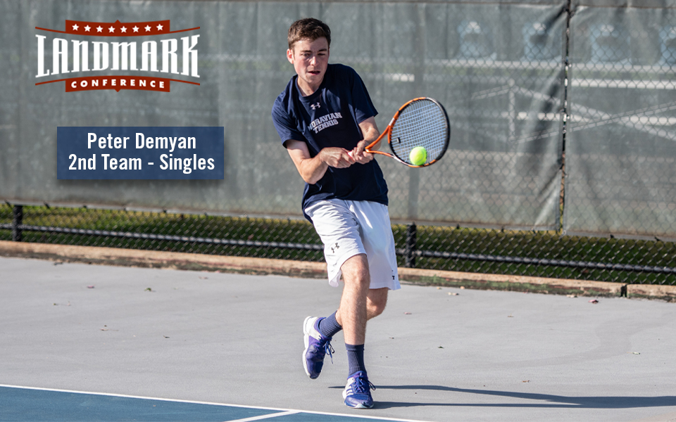 Peter Demayn Named to Landmark All-Conference Second Team.