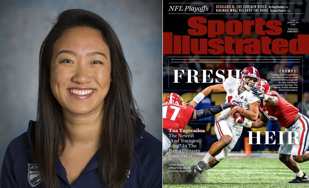 Cindy Cheng Featured in SI's Faces in the Crowd