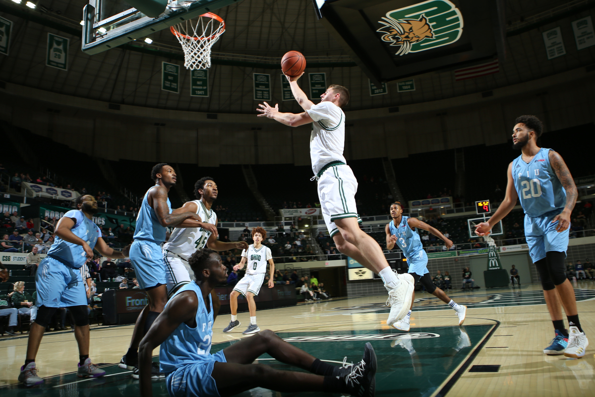 Carter's Late Basket Leads Ohio Men's Basketball to 68-66 Win Over FIU