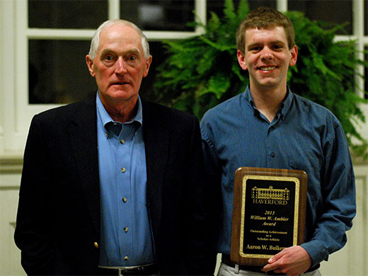Buikema honored with Ambler Award