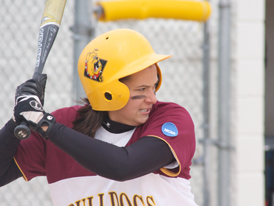 Senior Rhea Flores had a team-high tying two hits and a RBI in the shutout win over Truman.