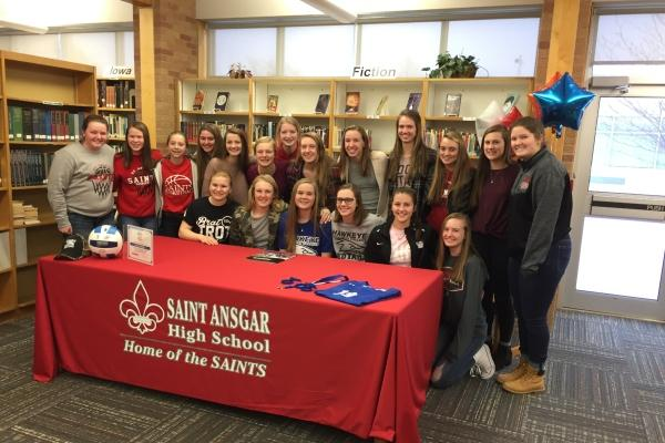 St. Ansgar Senior Tanyon Schutjer Signs with RedTail Women's Volleyball Team