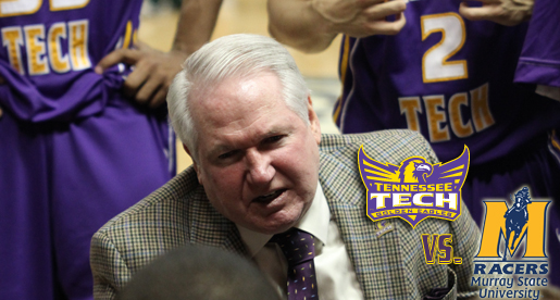 Headed to Racer country; Tech men take on Murray State at CFBS Arena