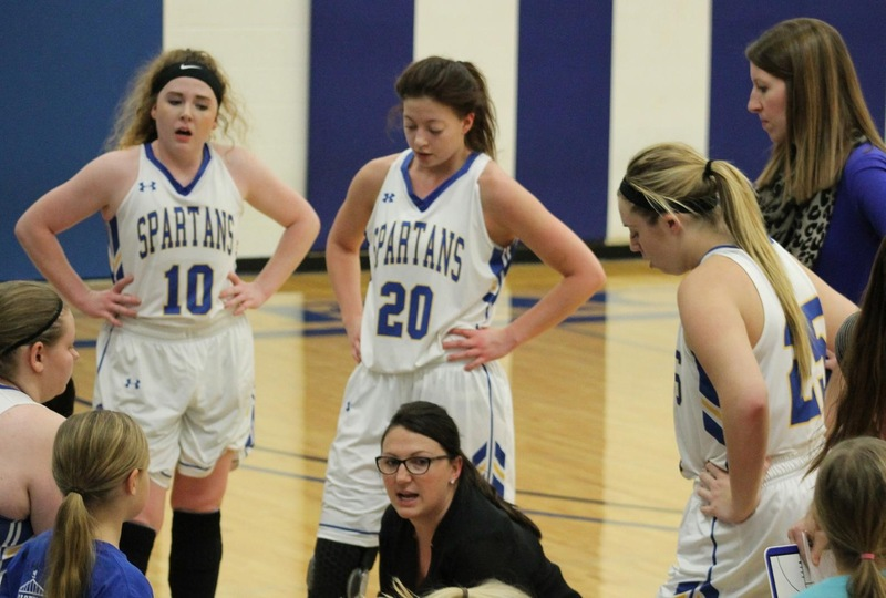Lady Spartans Fall to Fourth Ranked Northland