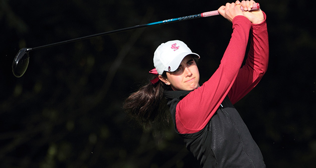 Women's Golf in Sixth After First Day of Competition