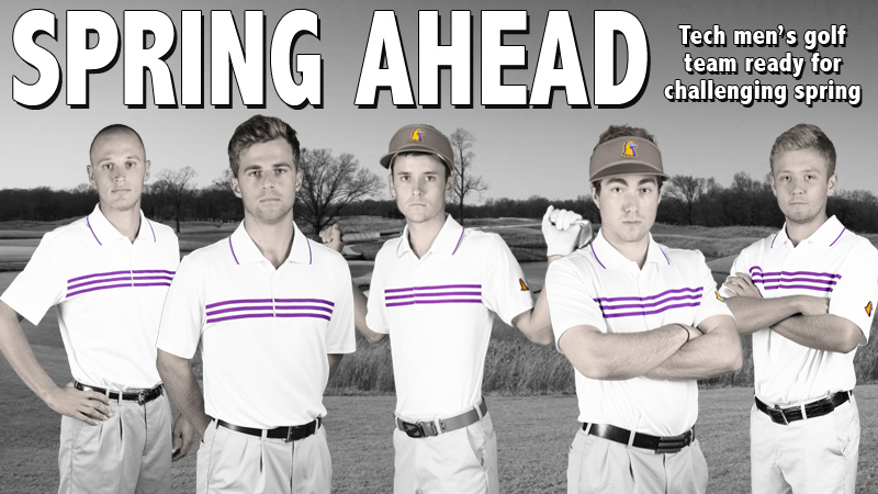 Tech men's golf team ready to take on challenging spring slate