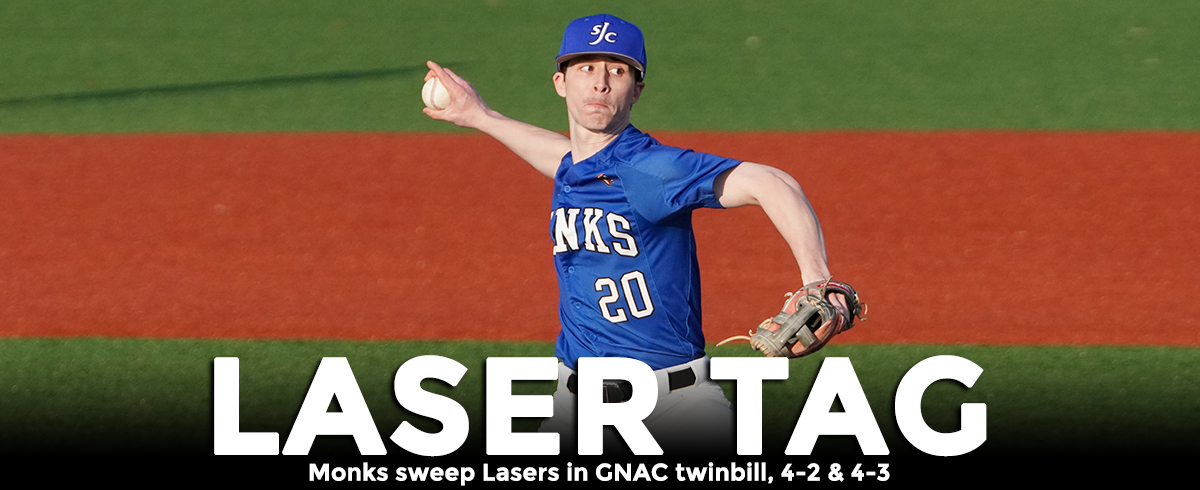 Monks Sweep Lasers in GNAC Play, 4-2 & 4-3