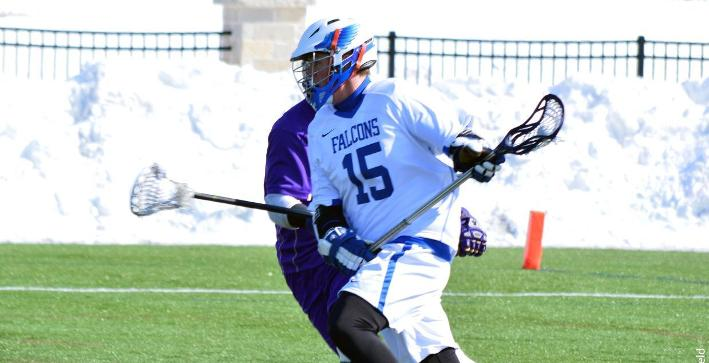 Albion scores five man-up goals to defeat Men's Lacrosse