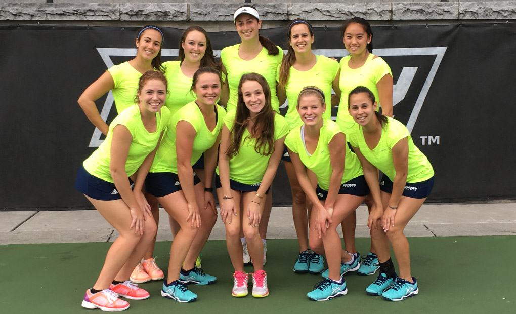 Emory Women's Tennis Begins UAA Title Defense Thursday; Opens Draw against Rochester