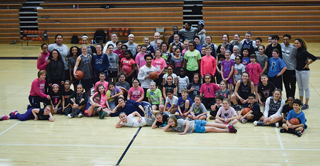 Moravian Hosts 6th Annual Play 4Kay Pink Zone Clinic