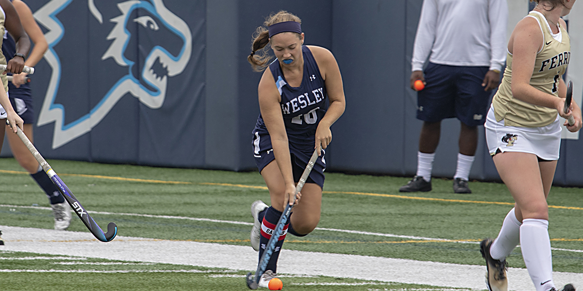 Fry scores as field hockey drops overtime decision to Neumann