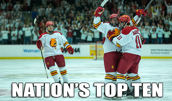 Bulldog Hockey Vaults Into Nation's Top 10 This Week!