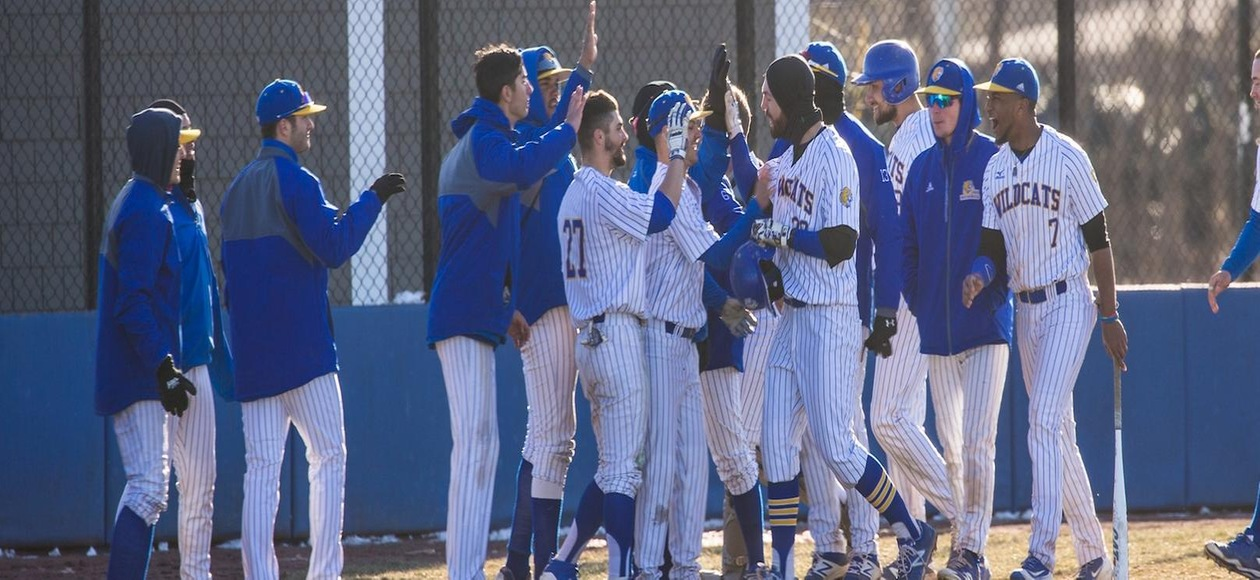 Baseball Ends Season With Losses in GNAC Tournament