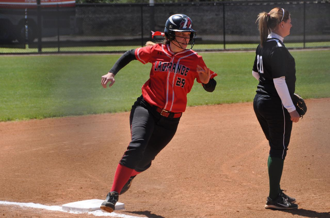 Softball: Five-run inning propels Panthers past Greensboro and into USA South Tournament title game
