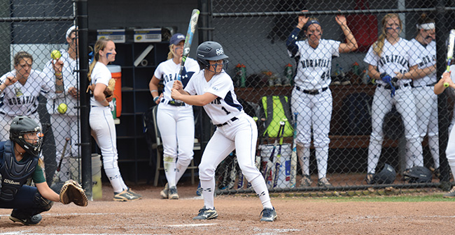 No. 8 Moravian Needs Extra Innings in First Game For Another Sweep at Delaware Valley
