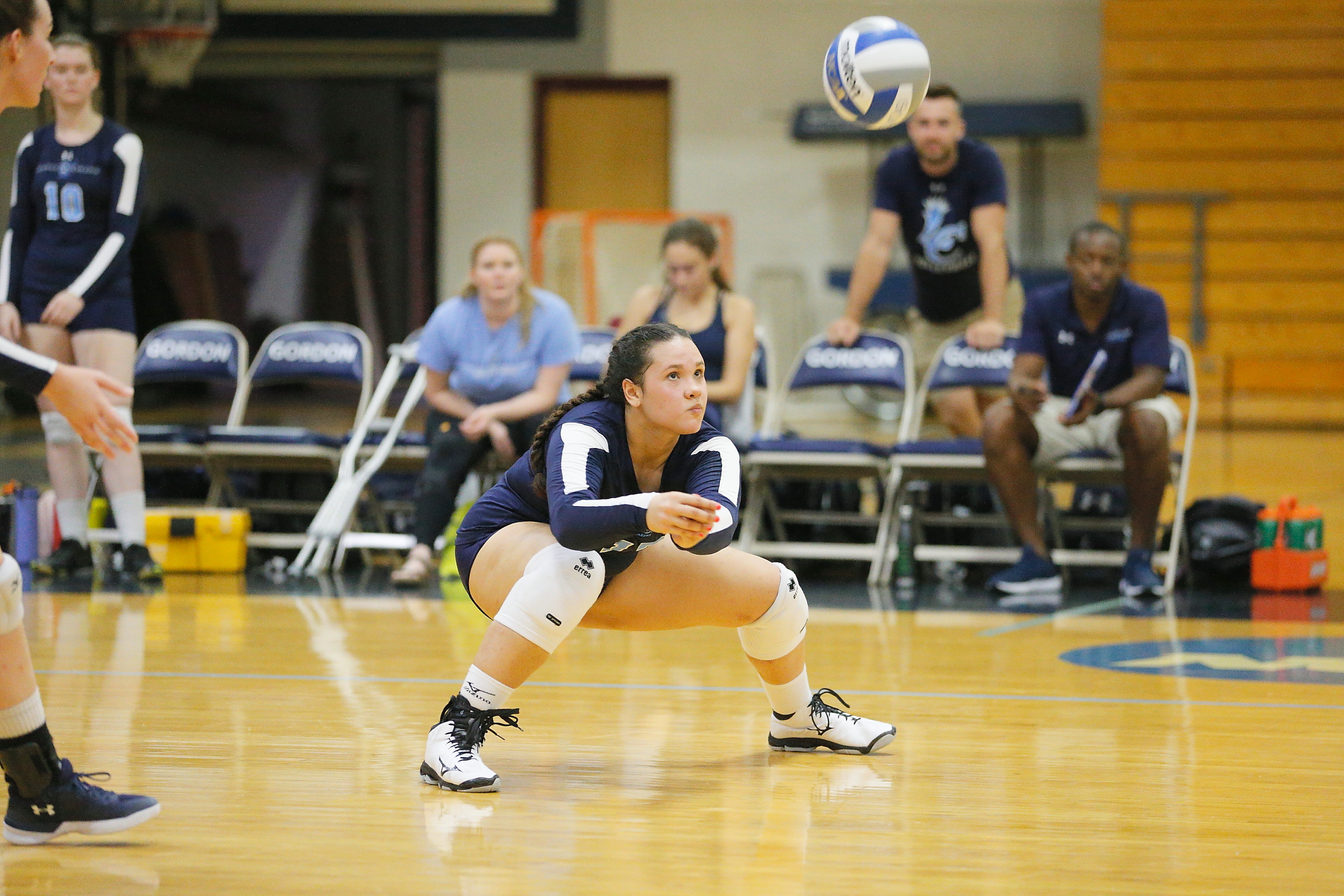 Gordon Drops Lasell in Women's Volleyball Action