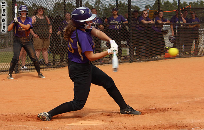 Softball Swept by Assumption During NE10 Twinbill