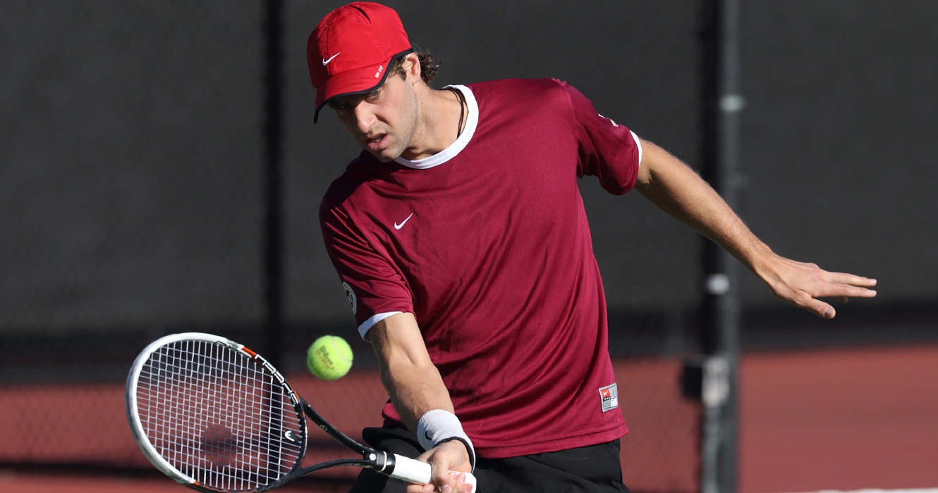 No. 43 Men's Tennis Head Coach Derek Mills Talks Seven-Match Winning Streak and Upcoming Matches