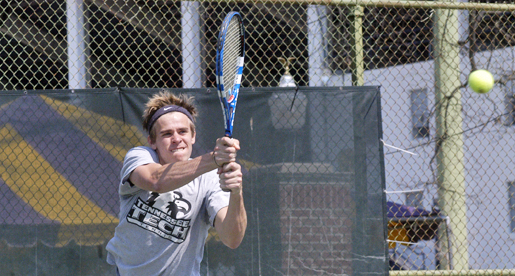 Men's tennis falls to Charlotte at Radford