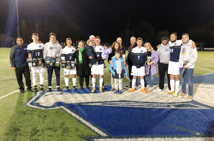 Men's Soccer: Raiders tripped up by Albertus on Senior Night