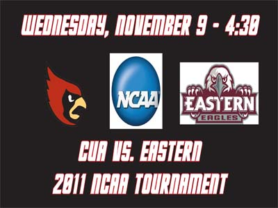 CUA welcomes Eastern on Wednesday in first NCAA Tournament