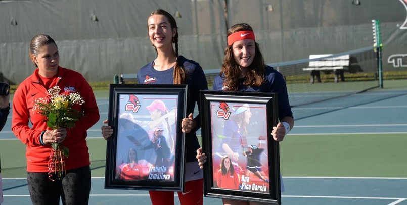 Izabella Ismailova and Ana Pico Garcia finish their careers at SVSU with a historic season after being key players atop the lineup...