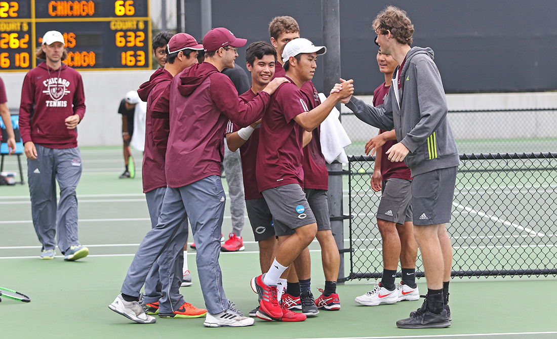 UChicago Men's Tennis Secures NCAA Final Four Spot with 5-2 Victory Over C-M-S