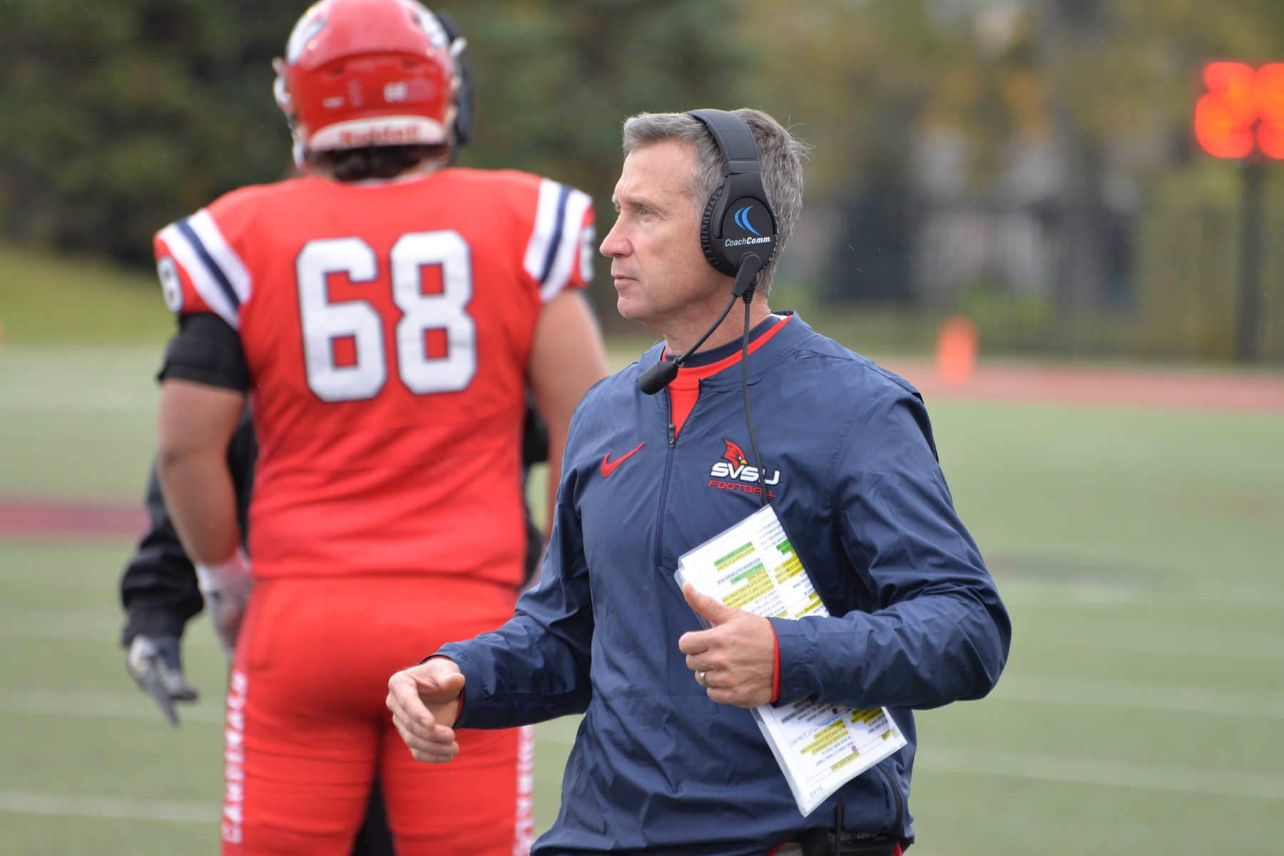 Head football coach Jim Collins leaving SVSU for a position with Army football