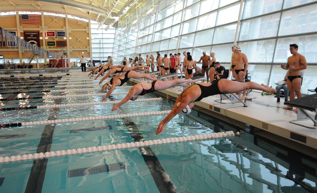 Maroon Swimming & Diving Wins Phoenix Fall Classic, Breaks Five School Records on the Weekend