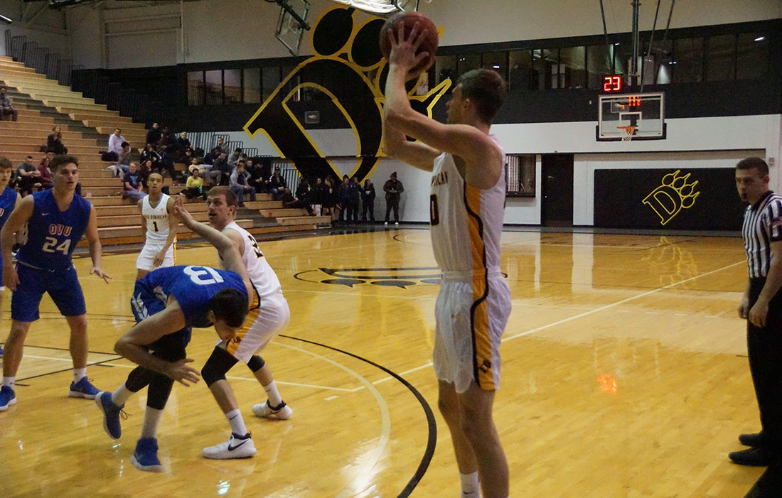 Men's Basketball Earns Eighth Victory In Last Nine Outings With 75-67 Win Over Alderson Broaddus