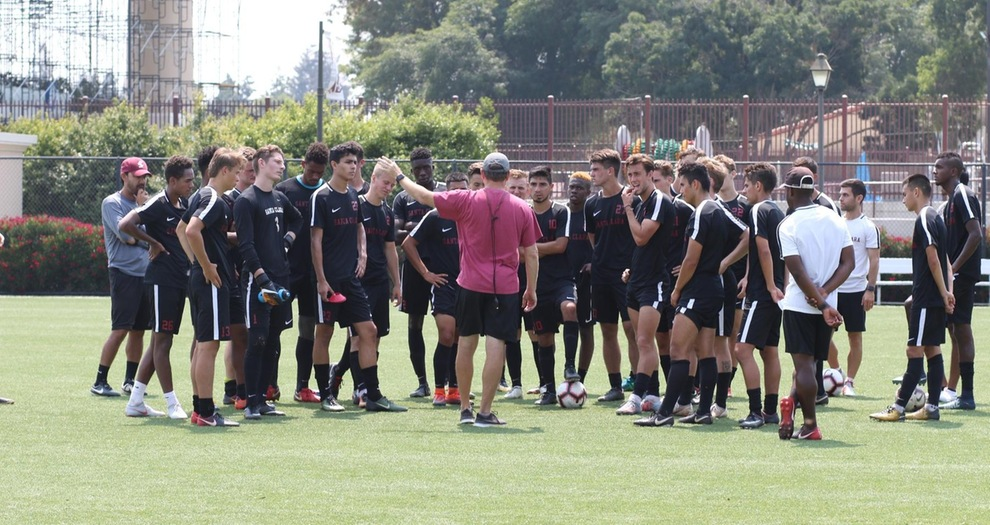Men's Soccer Hosts Sacramento State on Wednesday for Exhibition