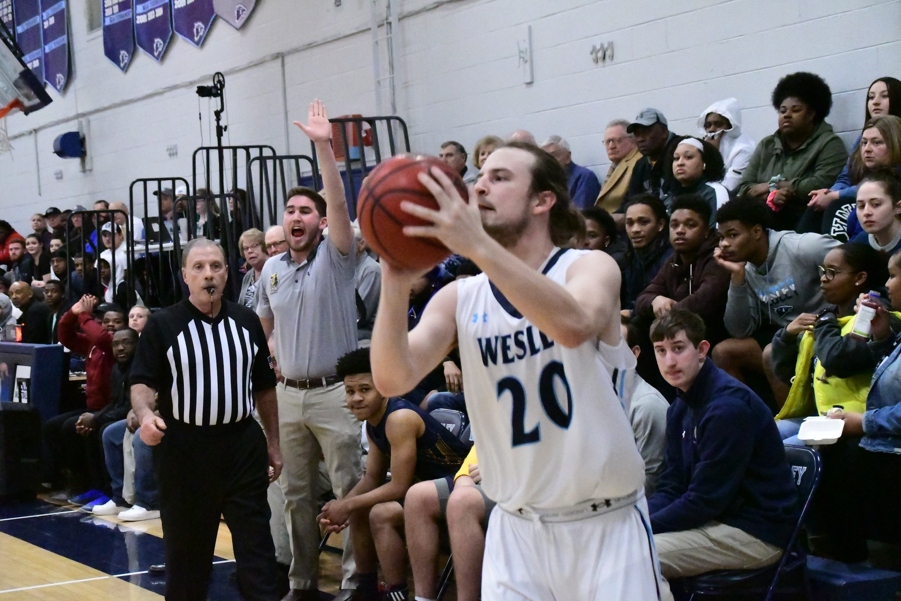 Men's Basketball Advances to Atlantic East Conference Championship after Defeating Immaculata 85-75