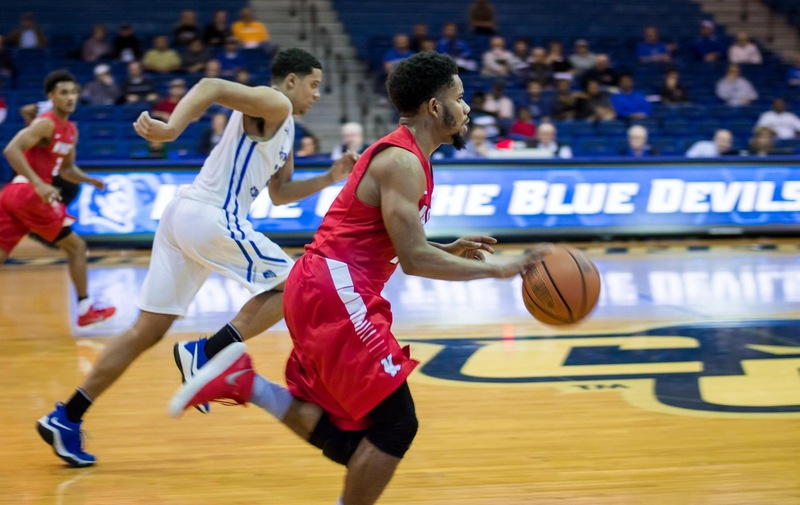 Men's Basketball Edged Out By Dominican Despite Strong First Half