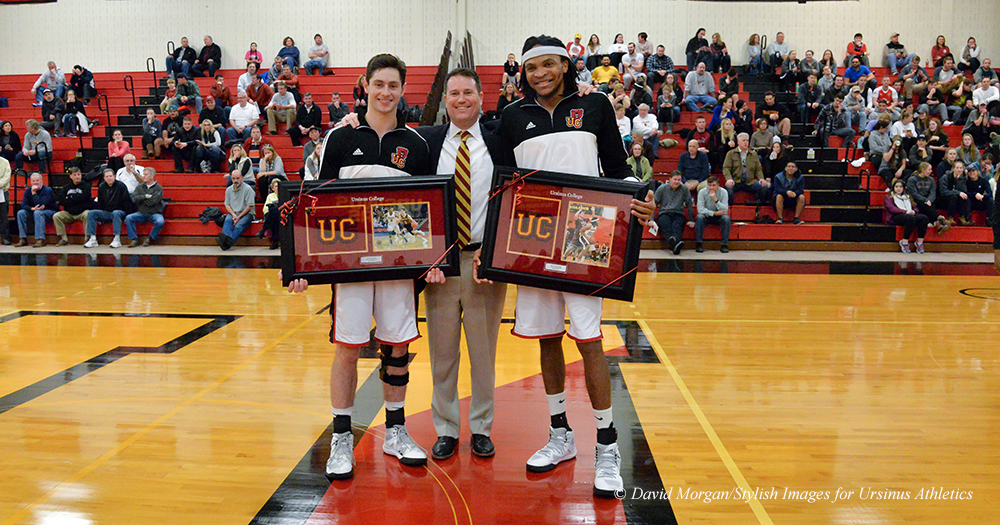 Men's Basketball Nipped by Red Devils on Senior Day