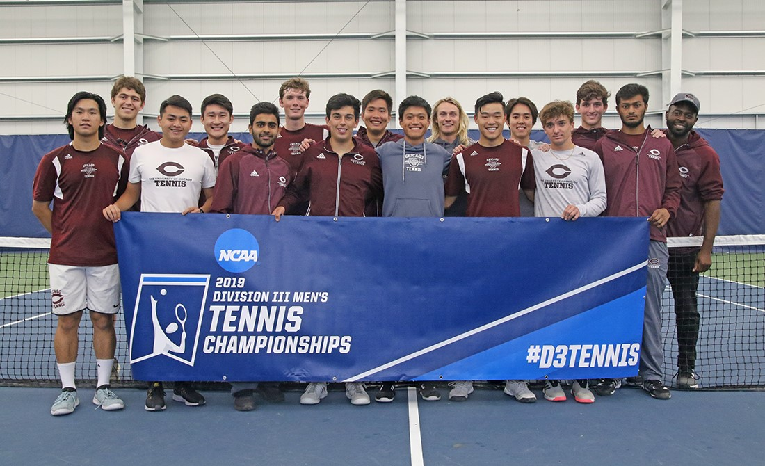 Maroon Men's Tennis Secures NCAA Regional Title 5-2 Against Gustavus Adolphus