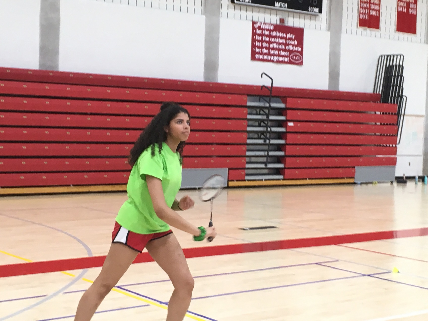 Roland Park badminton getting into full swing