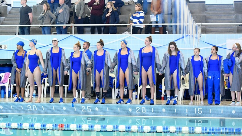 Blue Devils Post Second and Third Place Relay Finishes on Day One of NECs